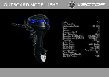 Outboard 15 hp