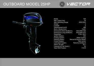 Outboard 25 hp