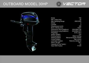Outboard 30 hp